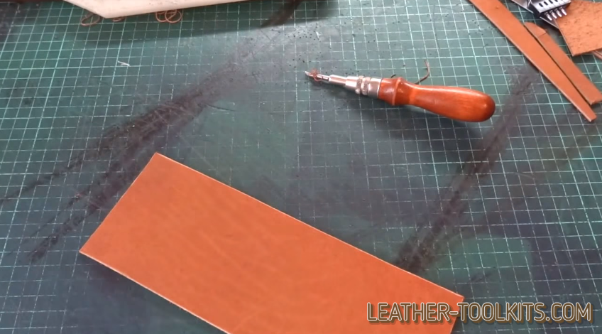 Leather Sewing Awl and Leathercraft
