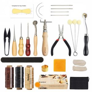 Leather Sewing Tools SIMPZIA 24 Pieces