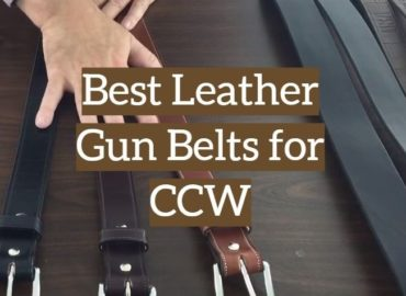 Leather Gun Belts for CCW