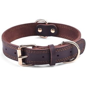 DAIHAQIKO Leather Dog