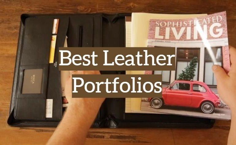 10 Best Leather Portfolios