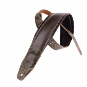 Top Grain Leather Padded Guitar Strap