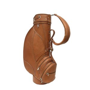 Piel Leather Deluxe 9in Golf Bag