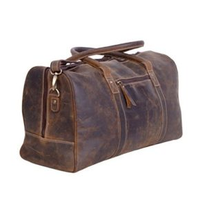 1KomalC Genuine Leather Duffel