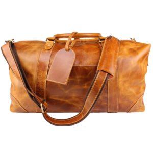 Genuine Leather Travel Duffel