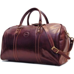 Cenzo Duffle Vecchio Brown Italian Leather