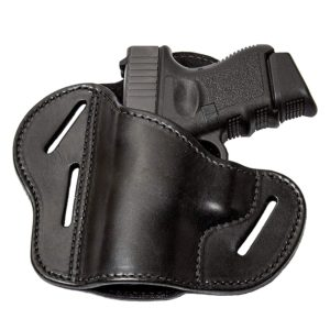 Relentless Tactical The Ultimate 3 Slot OWB Leather Gun Belt Holster