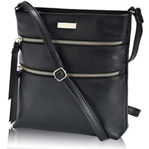 Leather Crossbody Purse for Women