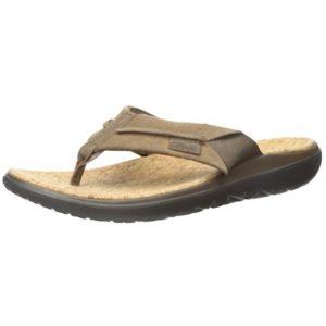 Teva Leather Flip Flops
