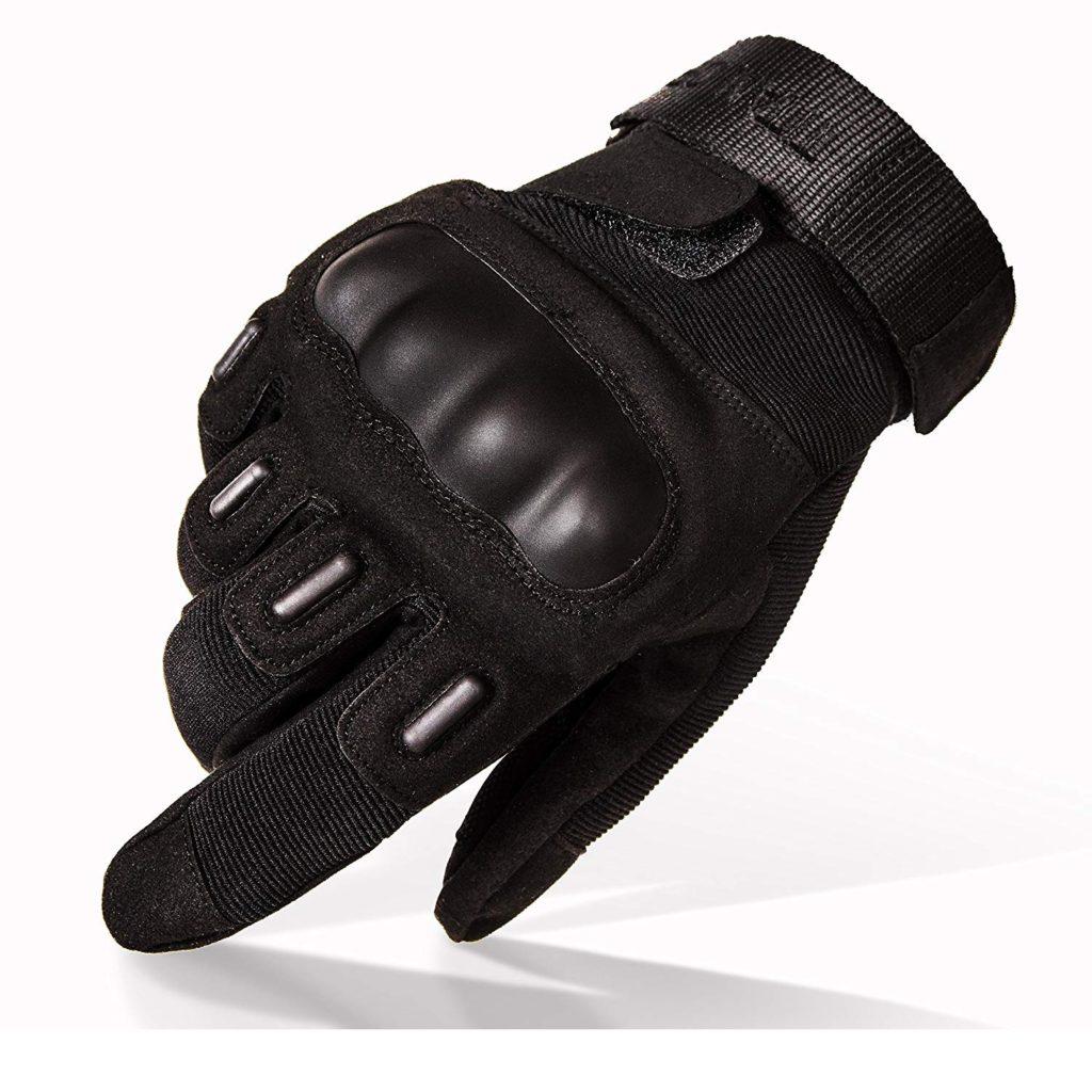 TitanOPS Full Finger and Half Finger Hard Knuckle Motorcycle