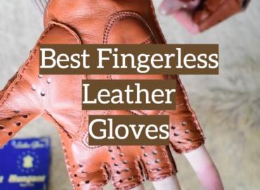 Best Fingerless Leather Gloves