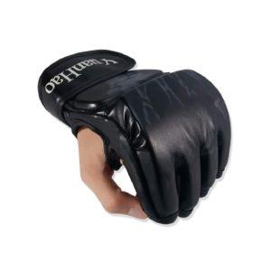 MMA Gloves, UFC Gloves Boxing Leather More Paddding for Men Women