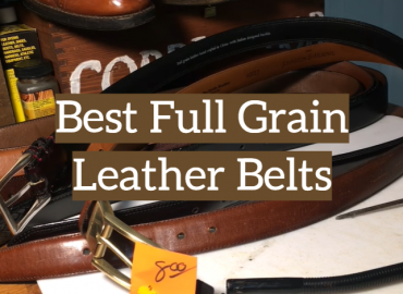 Best Full Grain Leather Belts