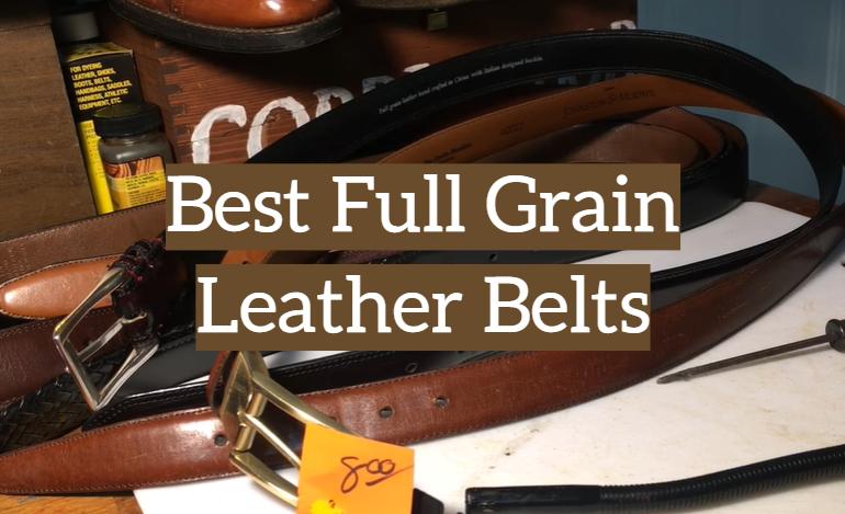 5 Best Full Grain Leather Belts