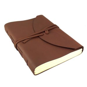 Large Genuine Leather Legacy Journal/Sketchbook with Gift Box