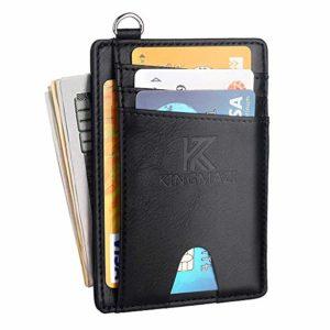 Slim Minimalist Front Pocket RFID Blocking Wallets