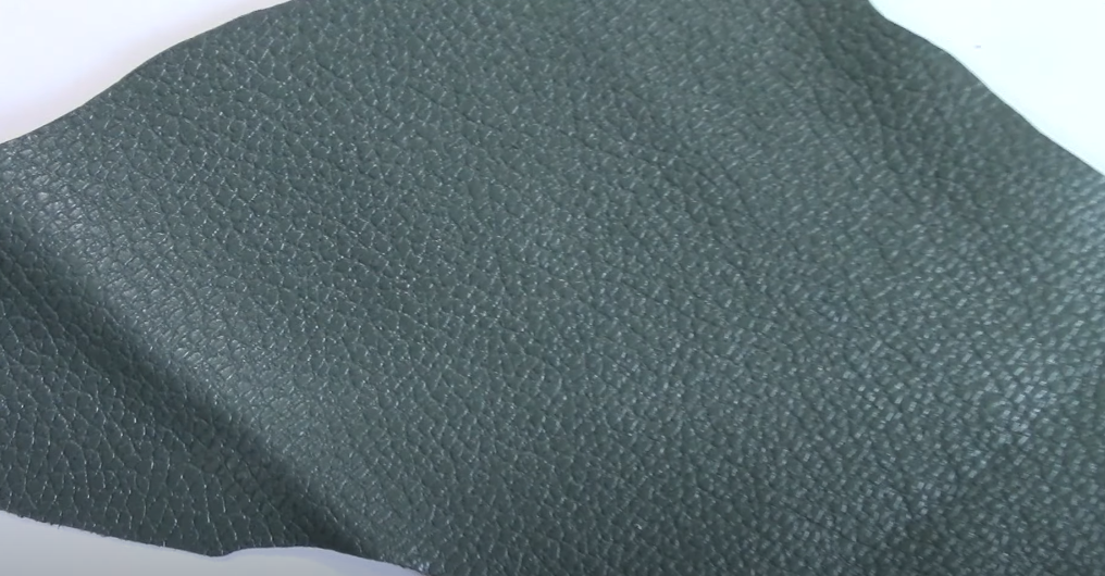 Definition of pigmented leather