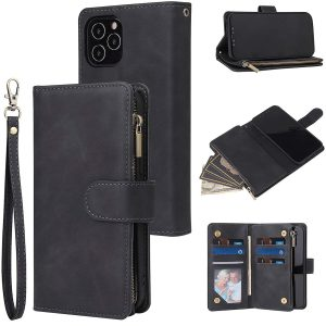 RANYOK Wallet Case Compatible with iPhone 12 Pro Max
