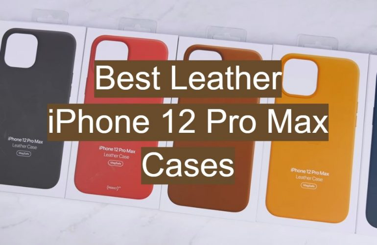 5 Best Leather iPhone 12 Pro Max Cases