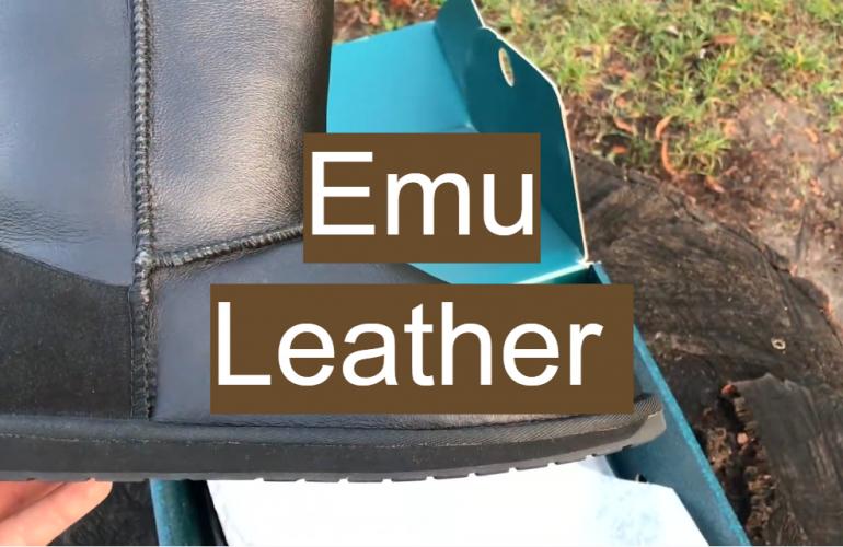 Emu Leather
